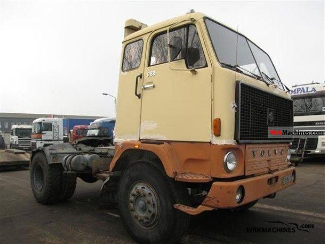 1975 VOLVO F 80 F 89 Semi-trailer truck Standard tractor/trailer unit photo