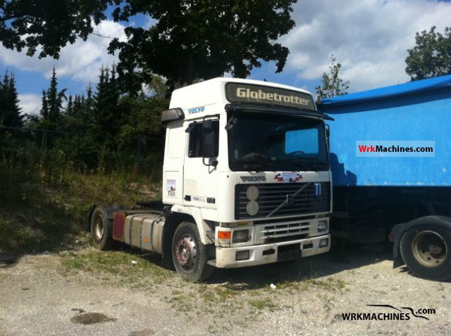 1992 VOLVO F 12 F 12/400 Semi-trailer truck Standard tractor/trailer unit photo