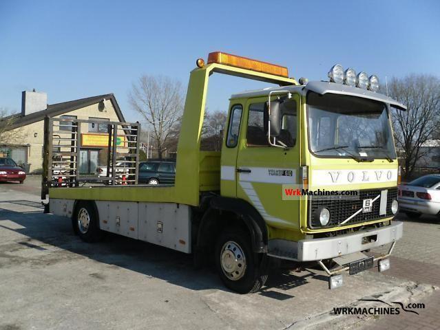 1980 VOLVO F 6 F 610 Van or truck up to 7.5t Breakdown truck photo
