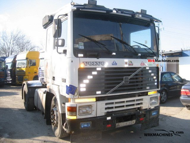 1991 VOLVO F 12 F 12/360 Semi-trailer truck Standard tractor/trailer unit photo
