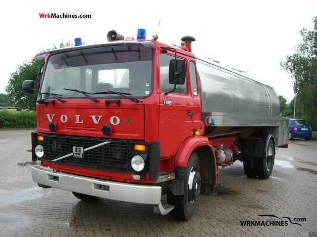 1983 VOLVO F 6 F 616 Truck over 7.5t Tank truck photo