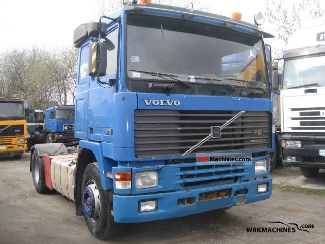 1992 VOLVO F 12 F 12/360 Semi-trailer truck Standard tractor/trailer unit photo