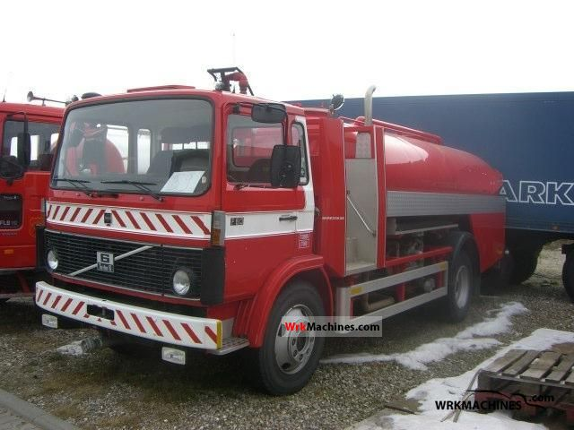 1979 VOLVO F 6 F 613 Truck over 7.5t Tank truck photo