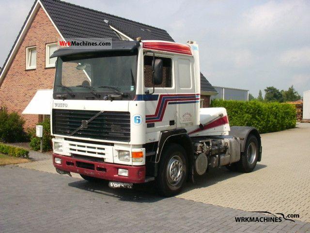 1990 VOLVO F 12 F 12/400 Semi-trailer truck Standard tractor/trailer unit photo