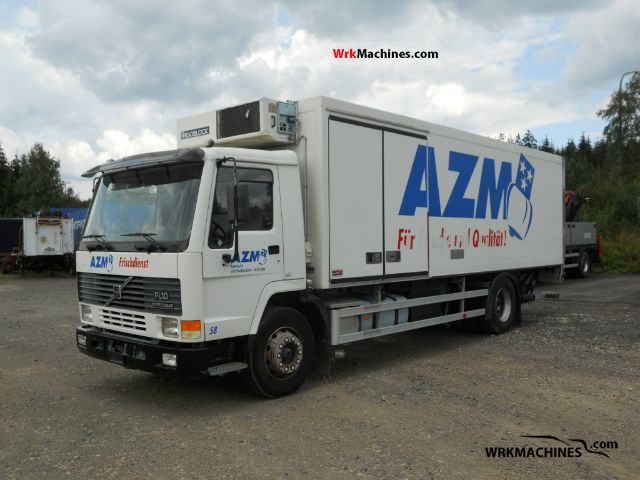 1997 VOLVO FL 10 FL 10/320 Truck over 7.5t Refrigerator body photo