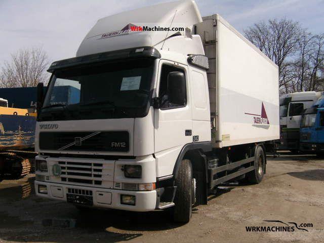 2000 VOLVO FM 12 FM 12/340 Truck over 7.5t Refrigerator body photo