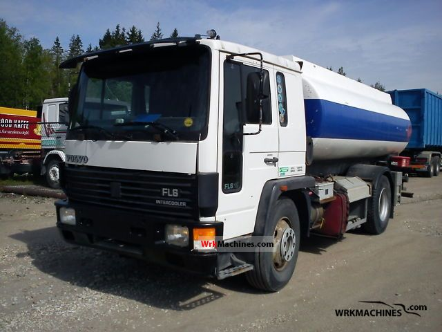 1995 VOLVO FL 6 FL 615 Truck over 7.5t Tank truck photo
