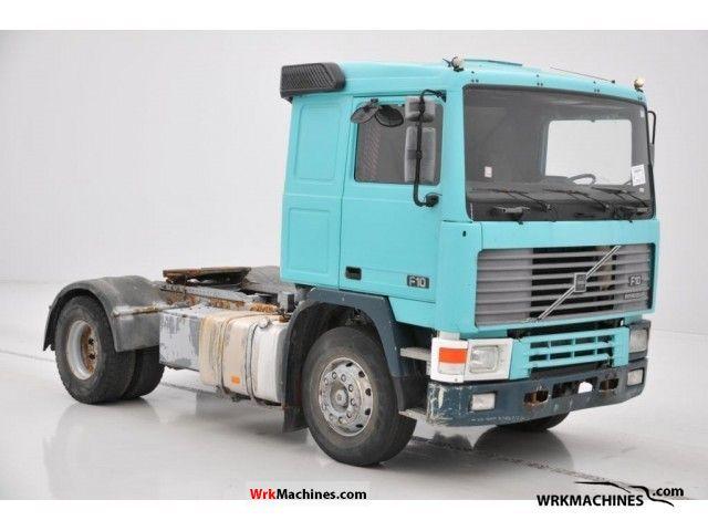 1992 VOLVO F 10 F 10/320 Semi-trailer truck Standard tractor/trailer unit photo