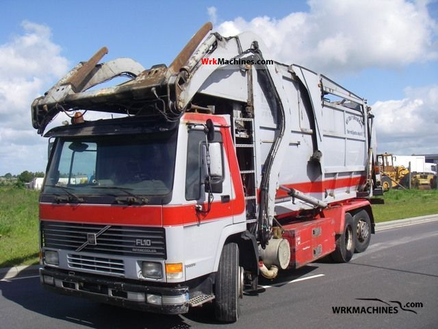 1999 VOLVO FM 10 10/320 Truck over 7.5t Refuse truck photo
