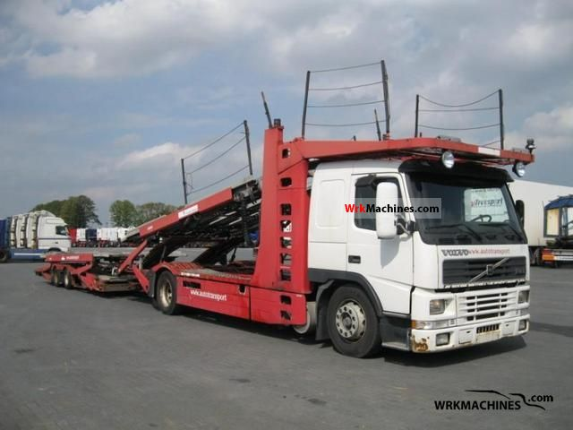2000 VOLVO FM 12 FM 12/420 Truck over 7.5t Car carrier photo