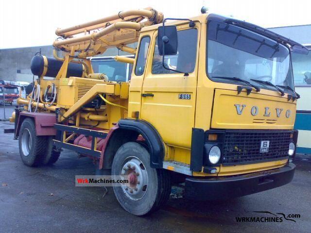 1982 VOLVO F 6 F 616 Truck over 7.5t Cement mixer photo