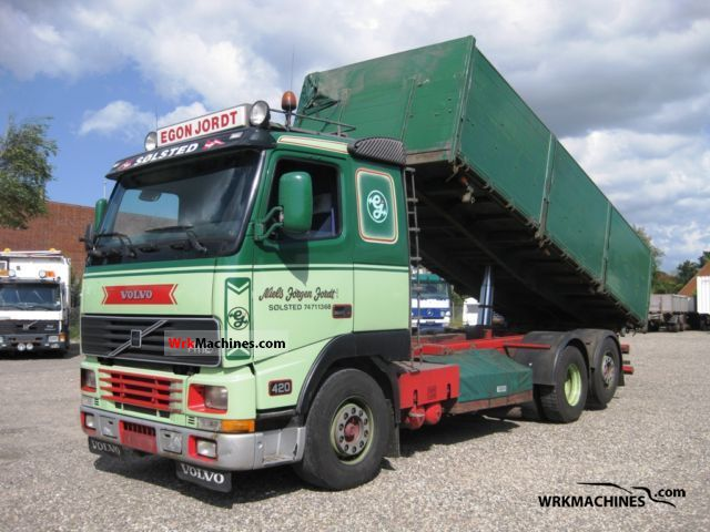 1997 VOLVO FH 12 FH 12/420 Truck over 7.5t Tipper photo