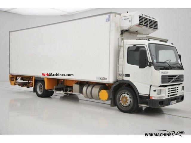 1999 VOLVO FM 7 FM 7/250 Truck over 7.5t Refrigerator body photo