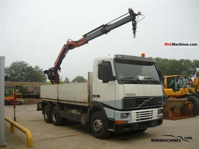 1994 VOLVO FH 12 FH 12/380 Truck over 7.5t Truck-mounted crane photo