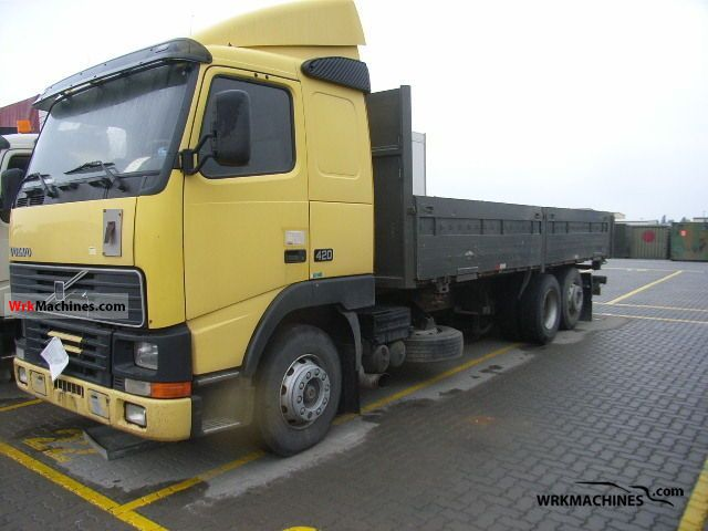 1997 VOLVO FH 12 FH 12/420 Truck over 7.5t Swap chassis photo
