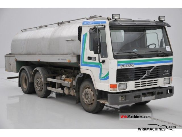 1996 VOLVO FL 10 FL 10/320 Truck over 7.5t Tank truck photo