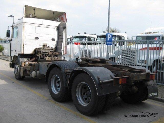 1991 VOLVO F 16 F 16/485 Semi-trailer truck Standard tractor/trailer unit photo