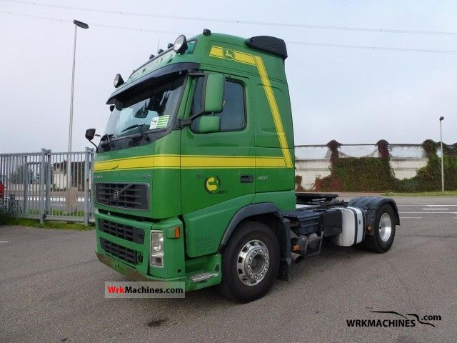 2003 VOLVO FH 12 FH 12/420 Semi-trailer truck Standard tractor/trailer unit photo
