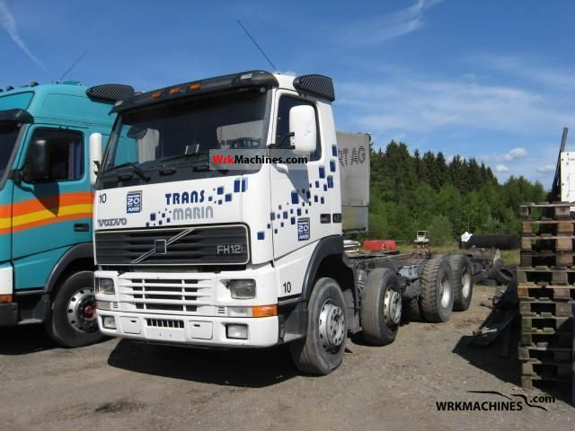 1997 VOLVO FH 12 FH 12/420 Truck over 7.5t Chassis photo