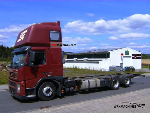 2006 volvo fm 380 truck over 7 5t swap chassis photo
