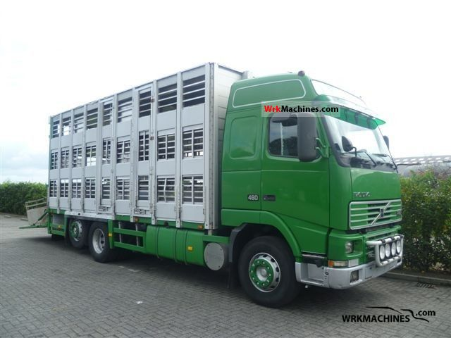 2000 VOLVO FH 12 FH 12/460 Truck over 7.5t Horses photo