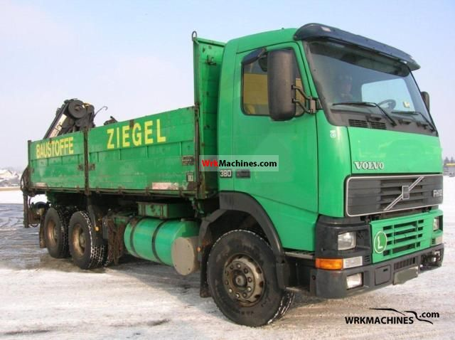 1994 VOLVO B 12 B 12 Truck over 7.5t Tipper photo
