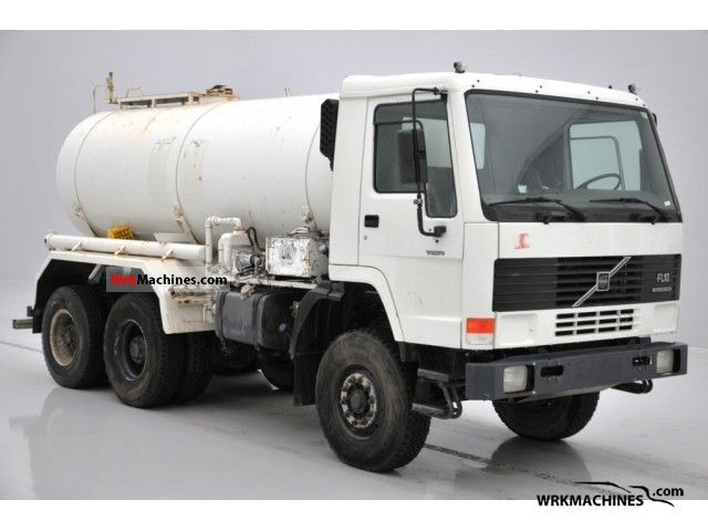 1994 VOLVO F 10 10/320 Truck over 7.5t Tank truck photo