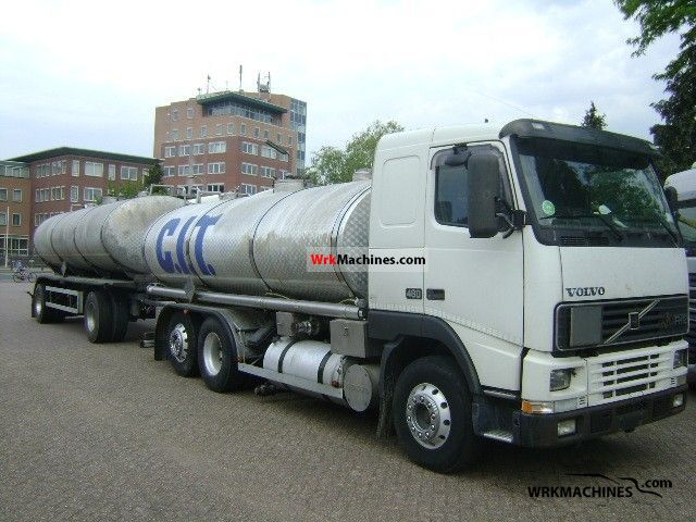 2001 VOLVO FH 12 FH 12/460 Truck over 7.5t Tank truck photo