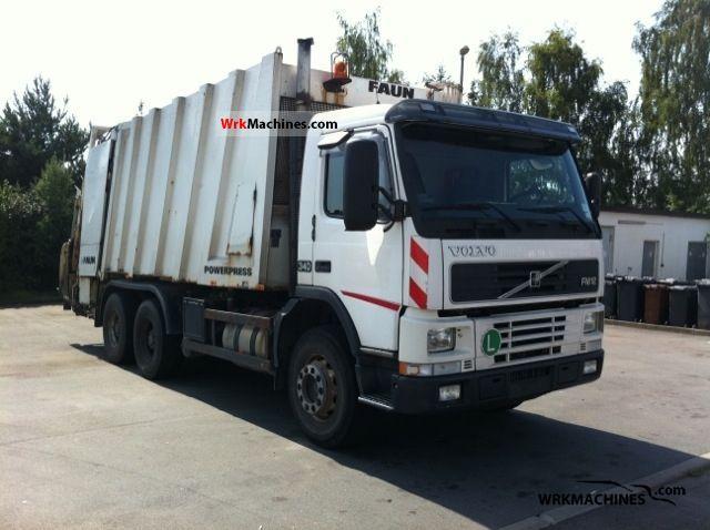 2001 VOLVO FM 12 FM 12/340 Truck over 7.5t Refuse truck photo
