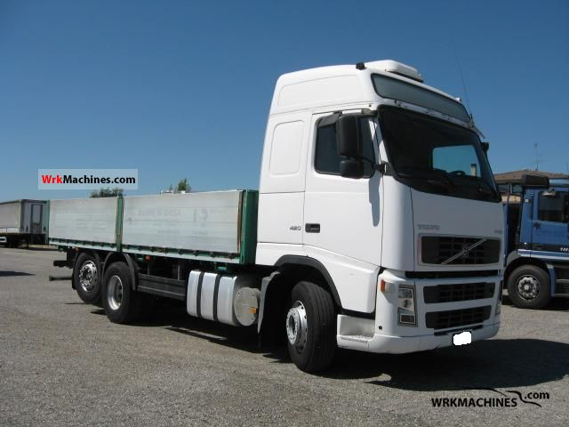 2002 VOLVO FH 12 FH 12/420 Truck over 7.5t Stake body photo