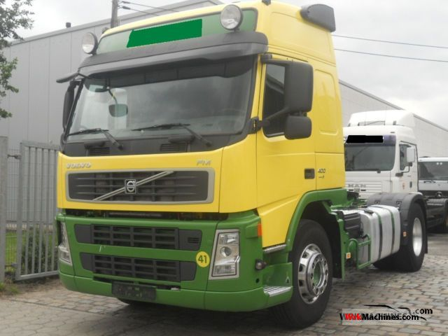 2007 VOLVO FH 400 Semi-trailer truck Standard tractor/trailer unit photo