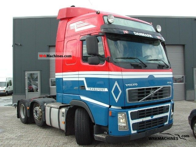2005 VOLVO FH 12 FH 12/420 Semi-trailer truck Heavy load photo
