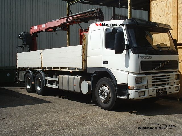 2000 VOLVO FH 12 FH 12/380 Truck over 7.5t Truck-mounted crane photo