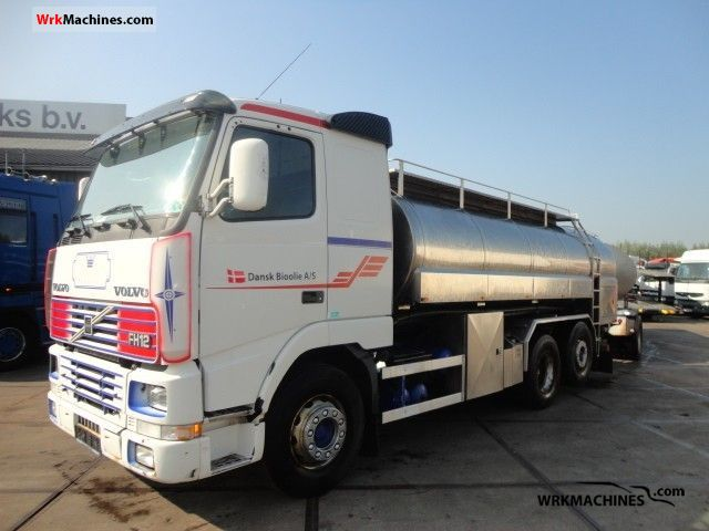 2002 VOLVO FH 12 FH 12/420 Truck over 7.5t Tank truck photo
