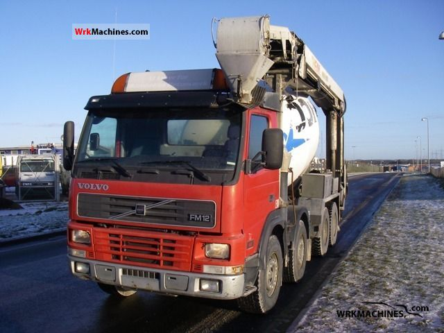 2000 VOLVO FM 12 FM 12/380 Truck over 7.5t Cement mixer photo
