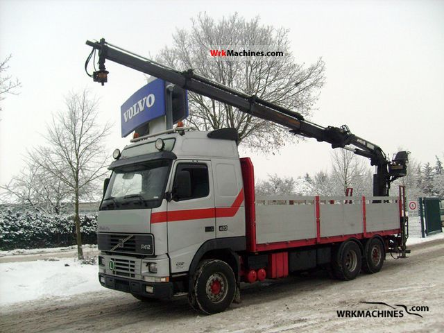 2002 VOLVO FH 12 FH 12/420 Truck over 7.5t Truck-mounted crane photo