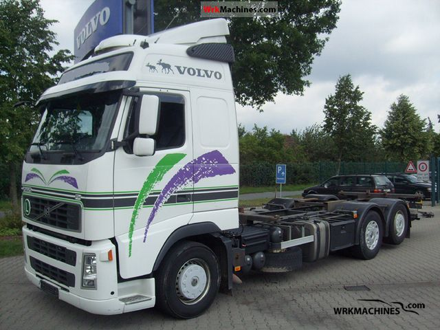 2007 VOLVO FH 440 Truck over 7.5t Swap chassis photo