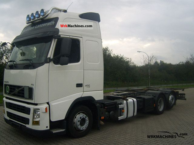 2008 VOLVO FH 400 Truck over 7.5t Swap chassis photo