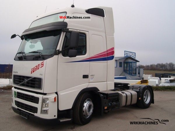2007 VOLVO FH 480 Semi-trailer truck Volume trailer photo