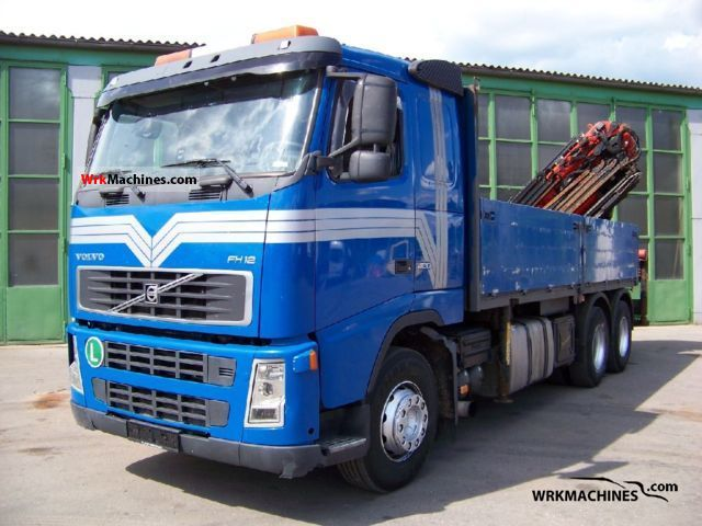 2004 VOLVO FH 12 FH 12/420 Truck over 7.5t Truck-mounted crane photo