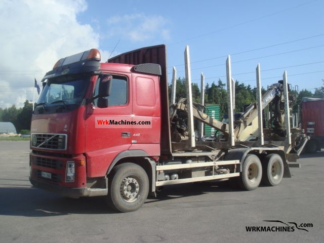 2006 VOLVO FH 440 Truck over 7.5t Timber carrier photo