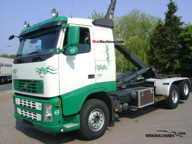 2007 VOLVO FH 440 Truck over 7.5t Roll-off tipper photo