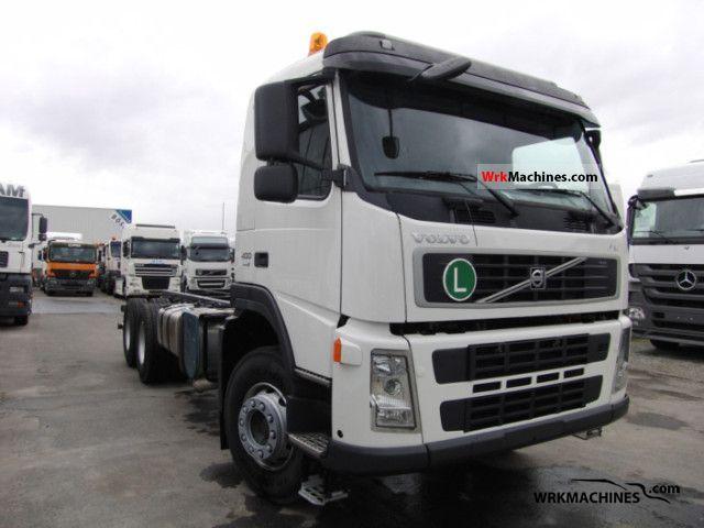 2011 VOLVO FM FM 400 Truck over 7.5t Chassis photo
