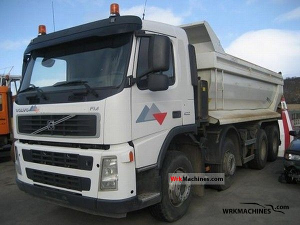 2007 VOLVO FM FM 400 Van or truck up to 7.5t Box photo