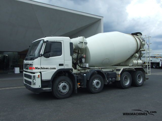2008 VOLVO FM FM 360 Truck over 7.5t Cement mixer photo