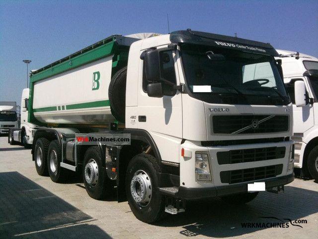 2011 VOLVO FM FM 480 Truck over 7.5t Tipper photo