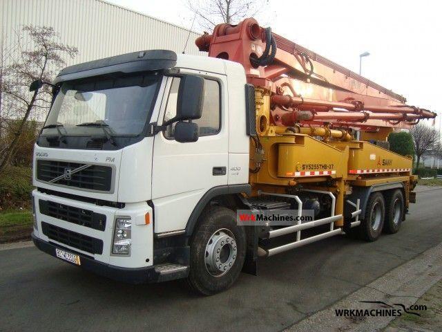 2007 VOLVO FH 400 Truck over 7.5t Concrete Pump photo
