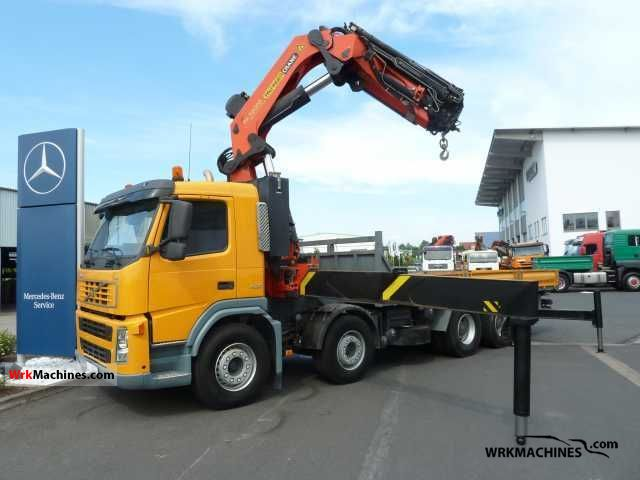 2006 VOLVO FH 400 Truck over 7.5t Stake body photo