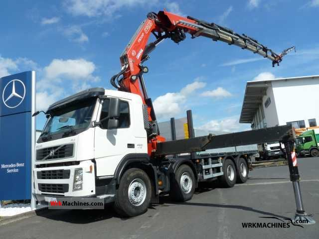 2008 VOLVO FH 400 Truck over 7.5t Stake body photo